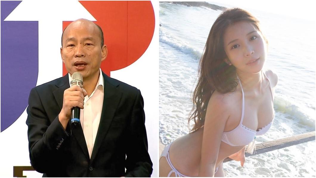 圖/TVBS資料照、翻攝自雞排妹臉書 不忍了!韓國瑜若當選總統 雞排妹將有「大動作」
