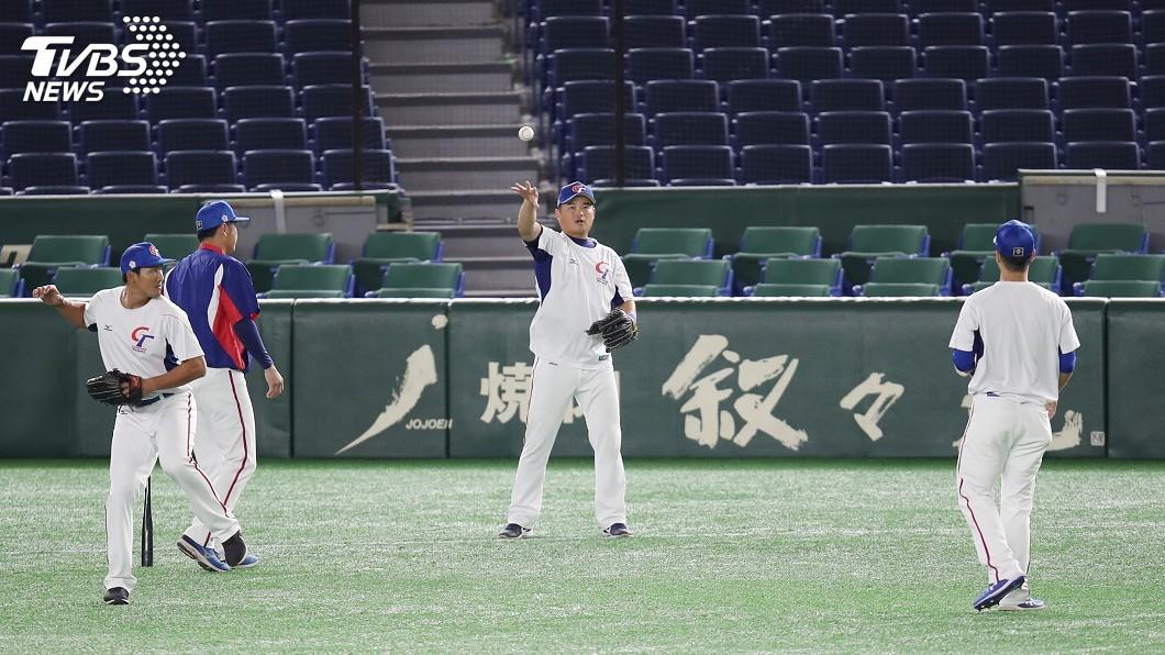 圖/中央社 12強複賽中華隊戰美國 前5棒與上一戰相同