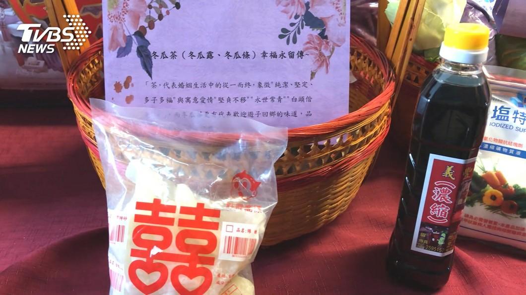 圖/TVBS 準備嫁妝送林志玲 黃偉哲:比選不分區名單難