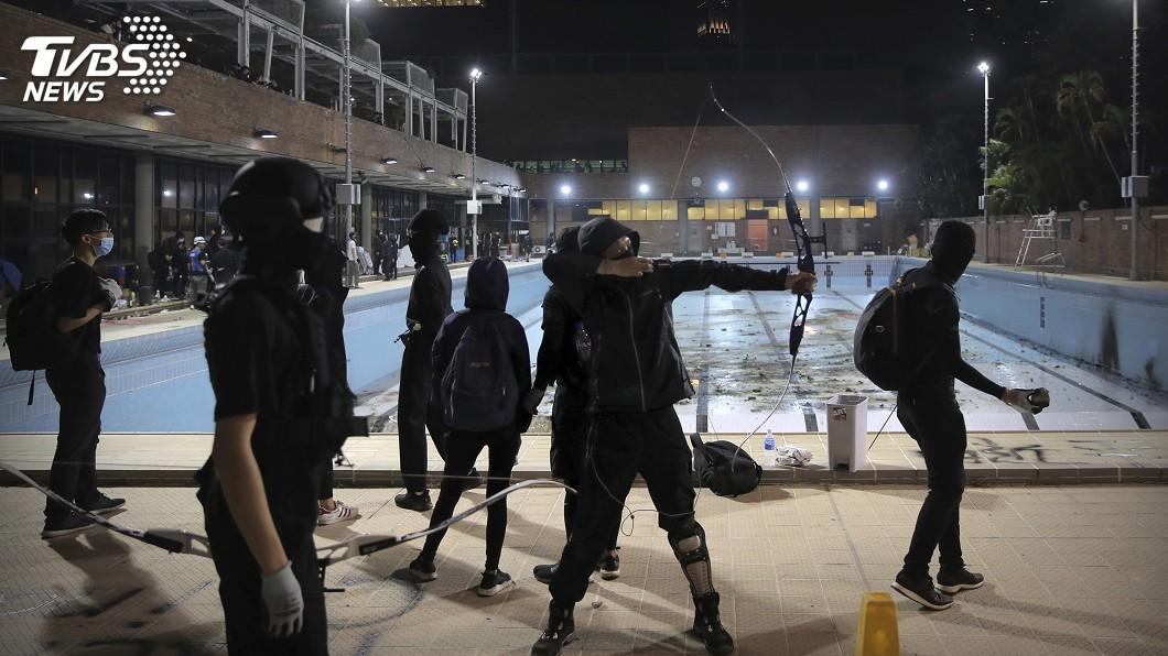 圖/達志影像美聯社 香港局勢升溫 馬國轉移留學生至安全地點