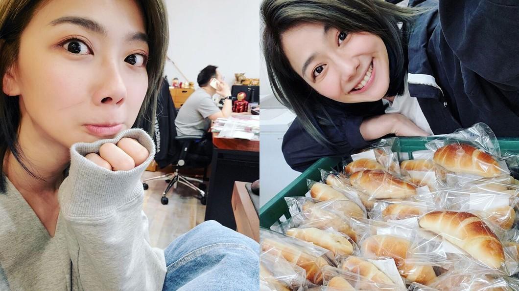 圖/翻攝自邵庭臉書 驚呆!邵庭「雙11」營業額破億 光麵包賣逾4萬顆