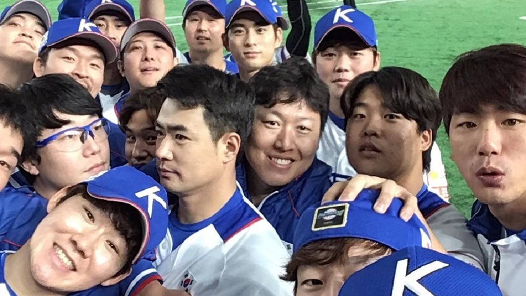 圖/翻攝自WBSC臉書 韓國擊敗墨西哥 台明年6搶1爭奧運門票