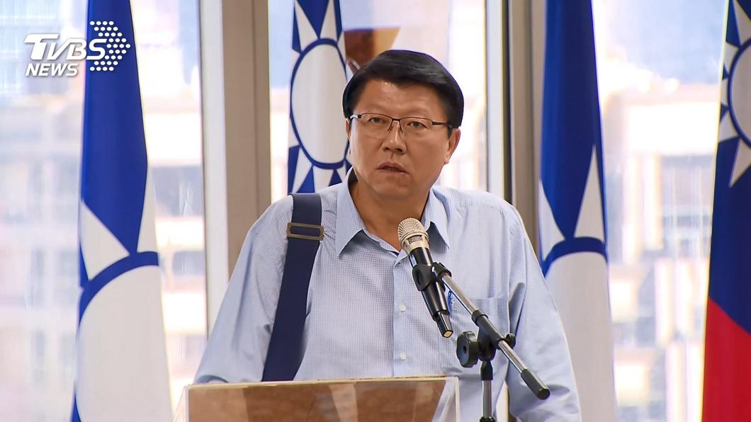 圖/TVBS 是否接受國民黨不分區安排? 謝龍介:思考中