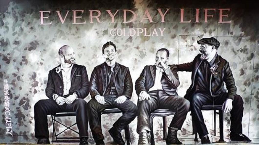 圖/翻攝自 burberry1227 instagram Coldplay搶分享! 顏振發西門手繪登國際