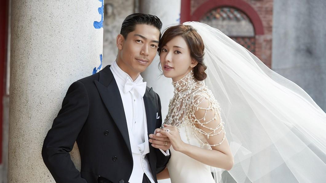 圖/TVBS圖/林志玲工作室提供 林志玲嫁AKIRA 淚泣:謝謝你讓我相信愛情