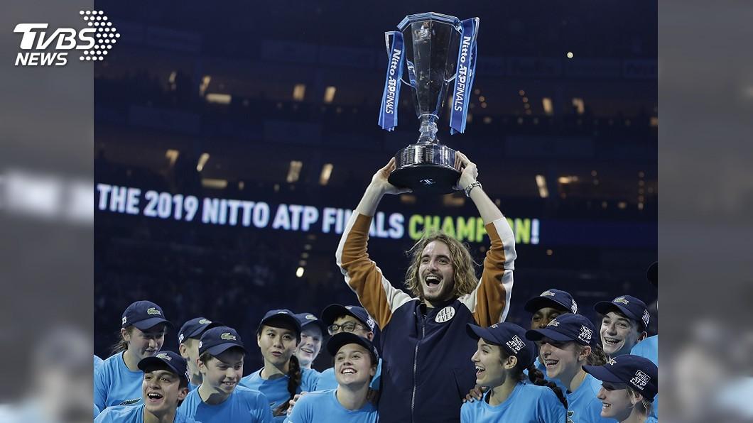 圖/達志影像美聯社 ATP年終賽決賽 希臘新星西西帕斯擊敗提姆奪冠