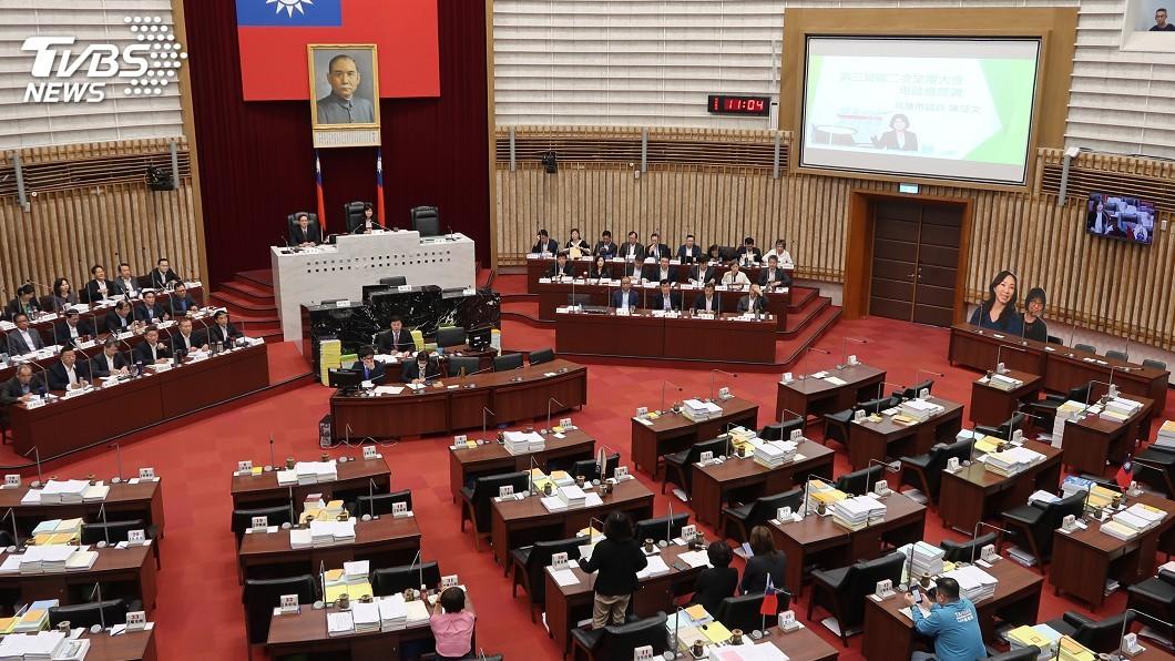 圖/中央社 疑涉炒房案 高美蘭請假避質詢綠議員促辭職