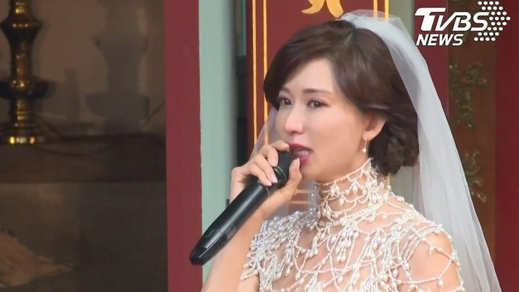 圖/TVBS資料照 一喊媽媽瞬間淚崩!林志玲「給父母的1封信」全場哭慘