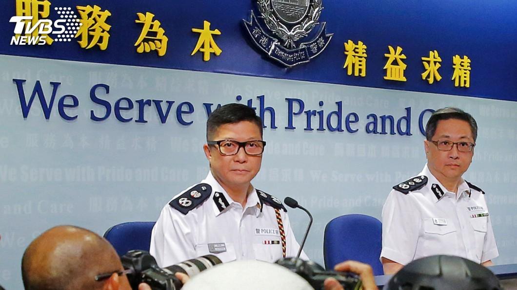 圖/達志影像路透社 接任香港警務處長 強硬派鄧炳強:示威者別再使用暴力