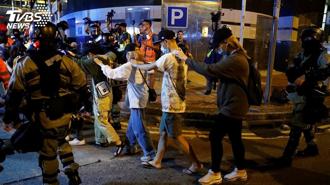 圖/達志影像路透社 前立法會議員:人大必再釋法 傷害香港司法獨立