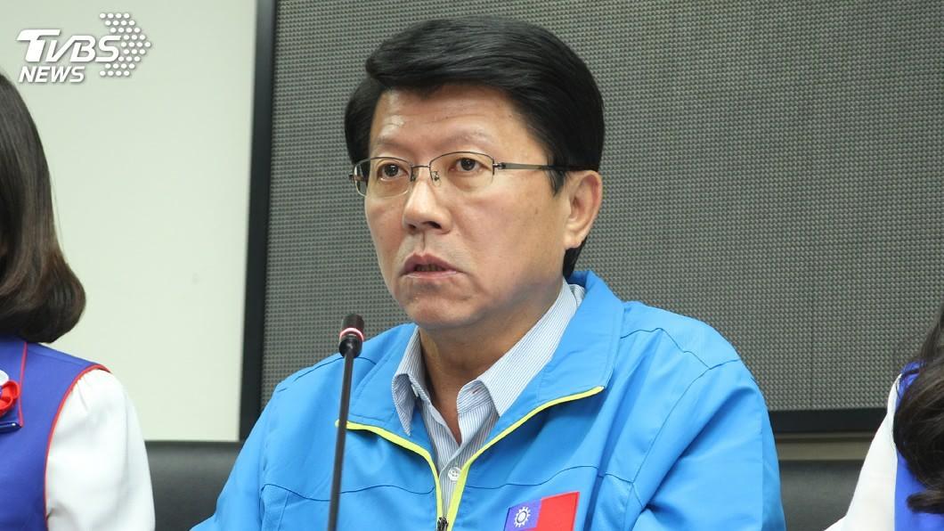 謝龍介昨(17)日透露有意參選台南市長。(圖/TVBS) 謝龍介表態參選台南市長 藍議員讚:藍營最強人選