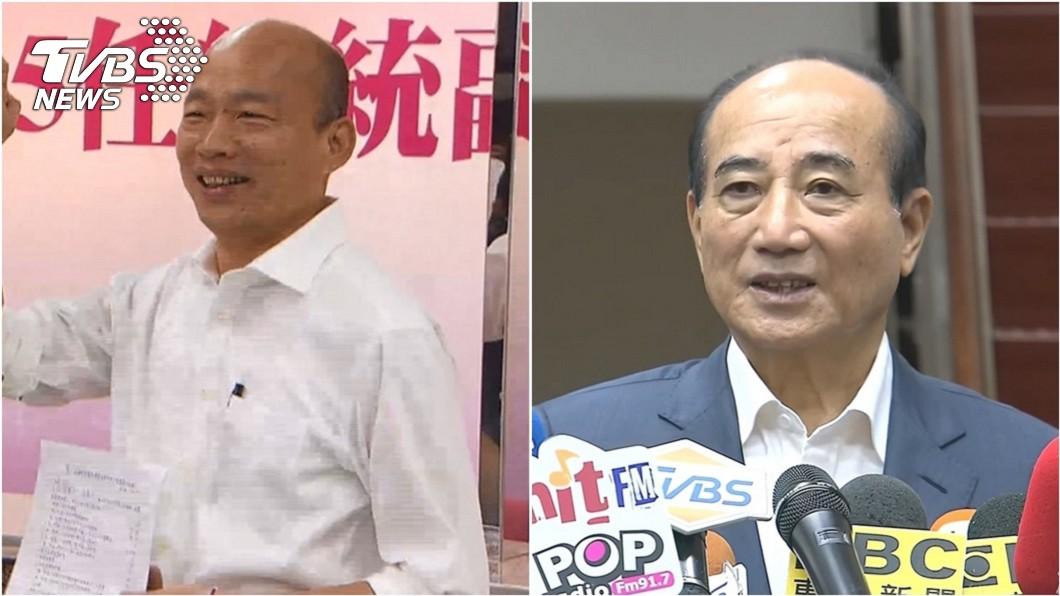 國民黨參選人韓國瑜(左)、前立法院長王金平(右)。圖/TVBS資料照 不解連戰堅挺韓! 王金平問連:韓國瑜怎麼當總統?