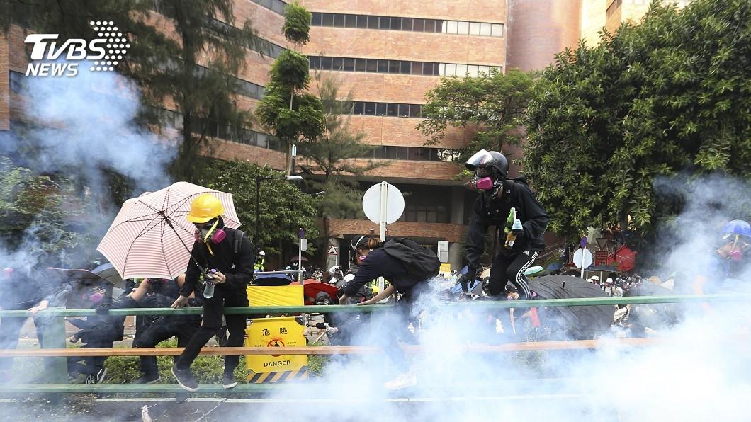 圖/達志影像美聯社 美參院通過香港人權法! 接下來就看川普