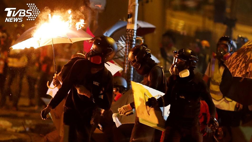 圖/達志影像路透社 抗議《香港人權法案》 中方召見美使館人員