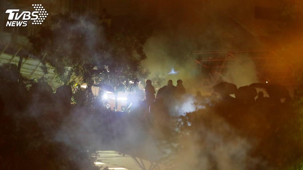 圖/達志影像路透社 抗議《香港人權法案》 中方7回擊揚言堅決反制