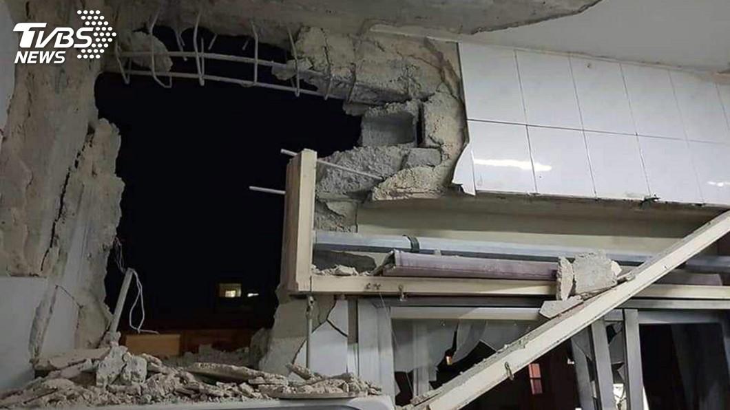 圖/達志影像美聯社 以色列朝大馬士革發射飛彈報復 敘利亞攔截