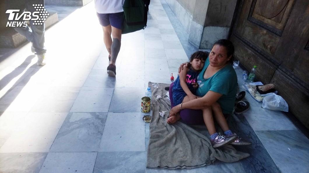 圖/中央社 聯合國報告:阿根廷一半兒童青少年處貧窮狀態