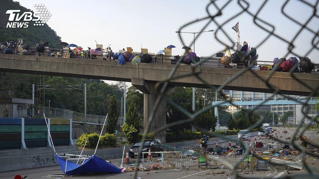圖/達志影像美聯社 反送中風雲起 香港各大學校長有人面對有人神隱