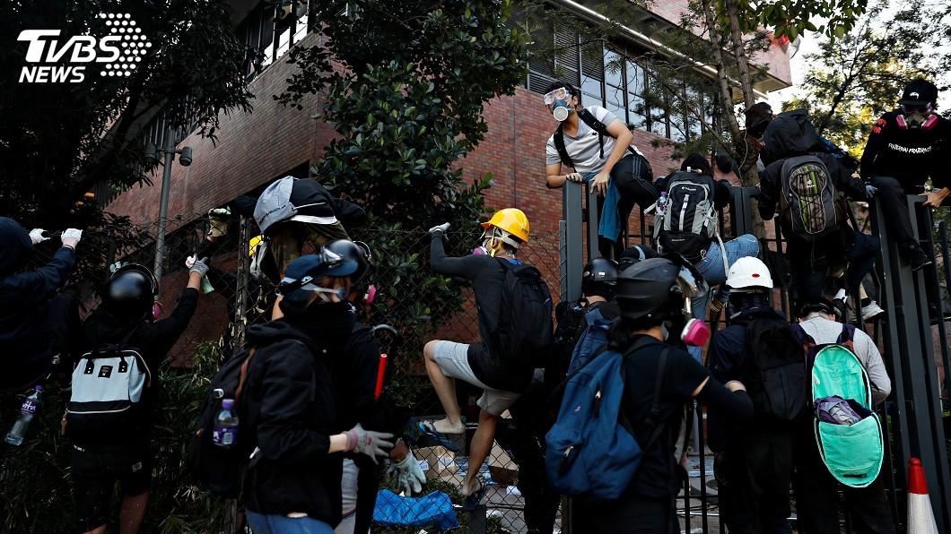 圖/達志影像路透社 美眾院通過參院版香港人權法案 將送川普簽署