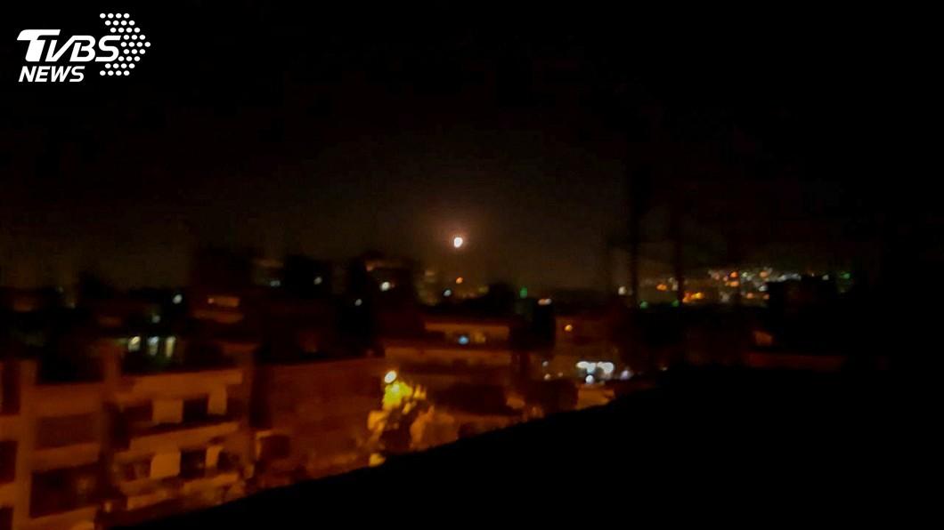 圖/達志影像路透社 報復敘利亞火箭攻擊 以色列證實空襲大馬士革