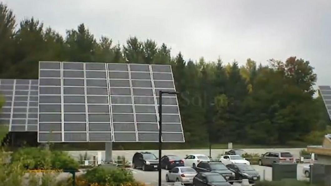 圖/翻攝自Luis Sánchez YouTube 太陽能有望取代化石燃料 美公司研發新設施