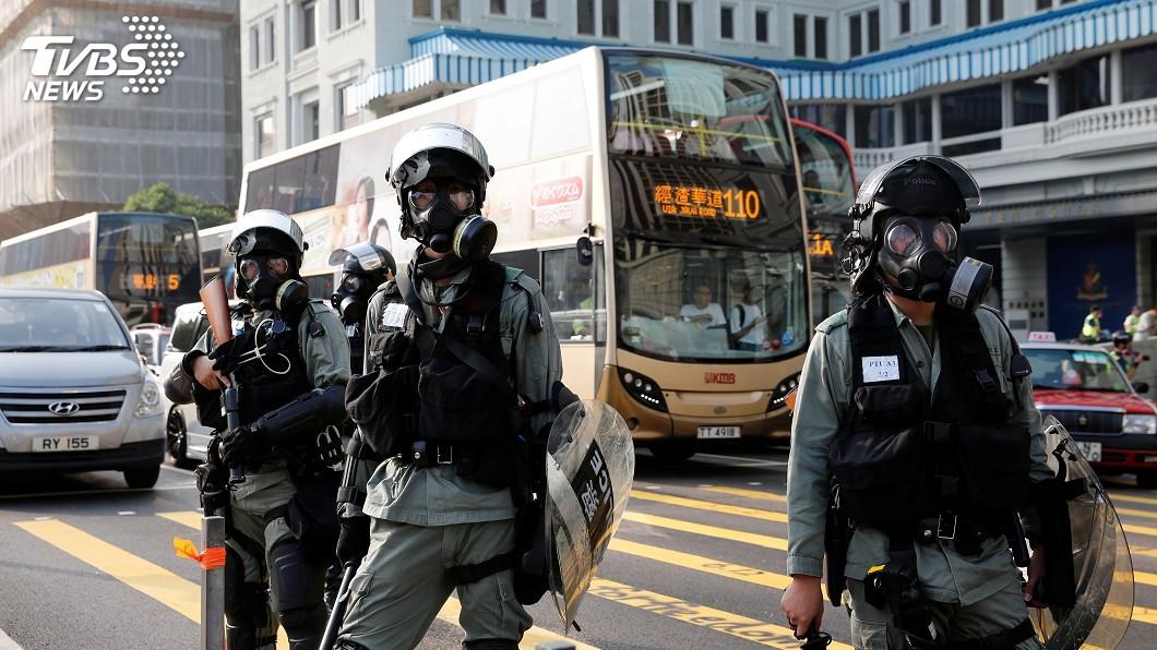 圖/達志影像路透社 火力全開反擊 中共黨媒批香港法案是廢紙一張
