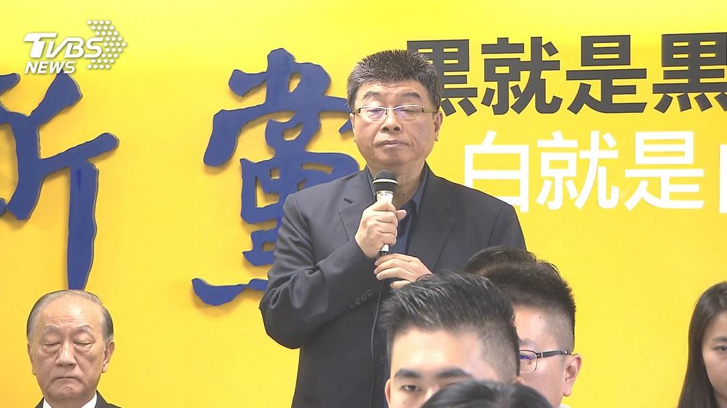 圖/TVBS 排不分區第一 邱毅:國民黨不敢提、新黨提