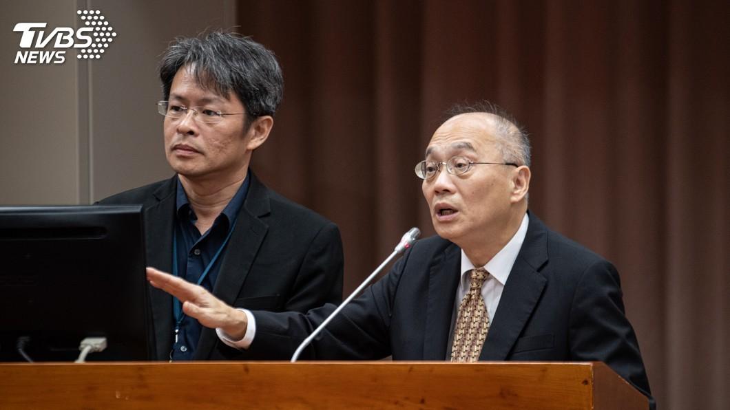 圖/中央社 故宮審預算廠商竟列席 吳密察不知情但會究責