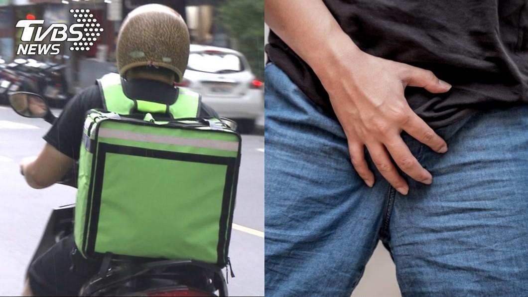 示意圖,與本文無關。圖/TVBS 拚外送每天騎10小時!男私密處痛爆 醫:恐不孕