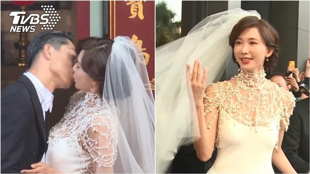 剛完婚的林志玲,一直被認為是演藝圈內高EQ的代表人物。(圖/TVBS) 演藝圈誰EQ最高?蔡康永:非林志玲是另有其人