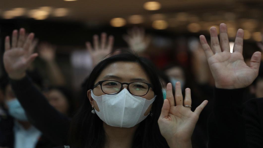 圖/達志影像美聯社 香港衝突升溫 美眾議院閃電通過香港人權法