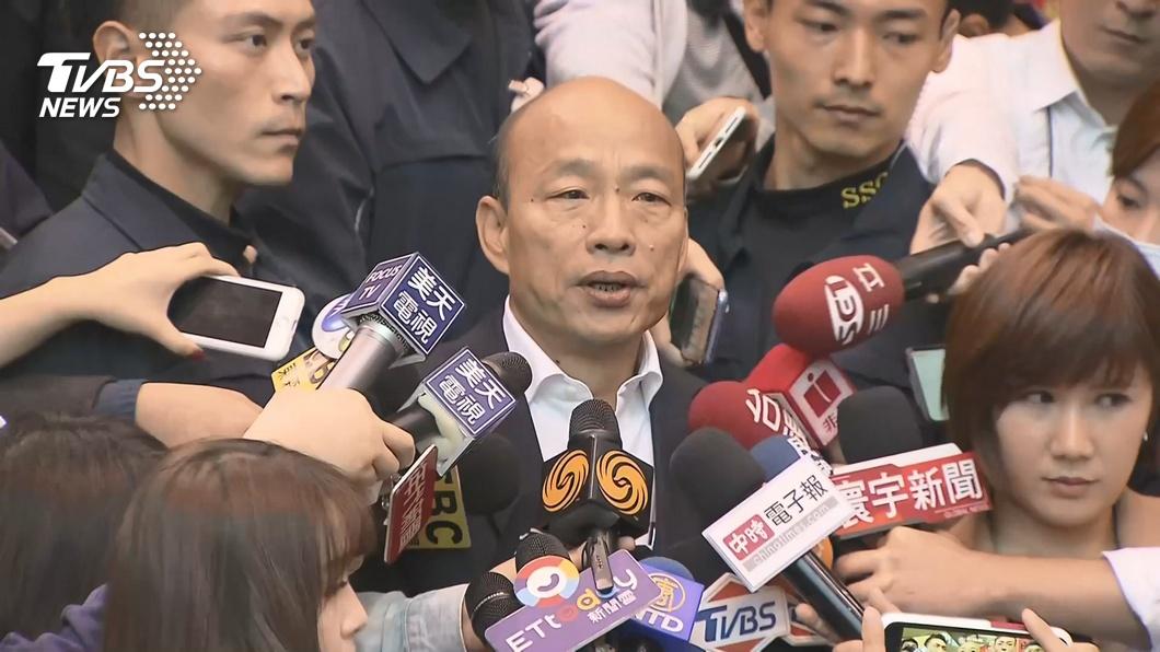 國民黨總統候選人韓國瑜。圖/TVBS資料畫面 火大了!陷房產風波遭段宜康虧 韓反轟「你什麼咖」