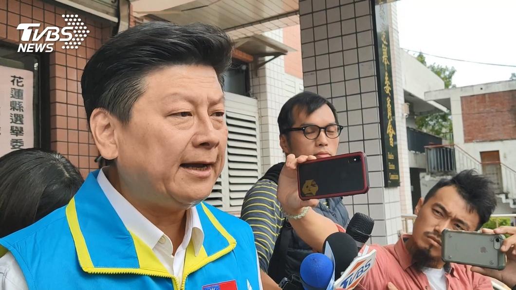 圖/TVBS資料畫面 傅崐萁收到入監傳票聲請延後 檢方依理由審理