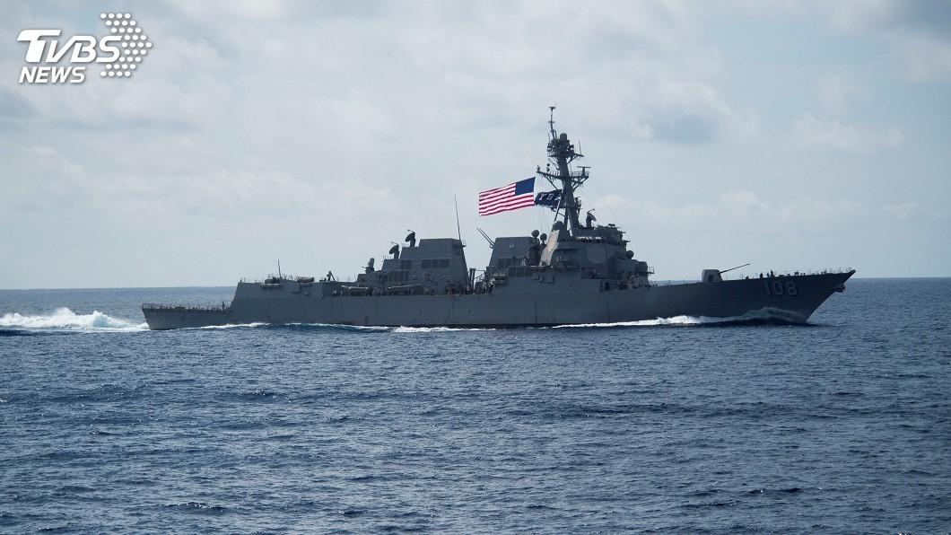 圖/達志影像路透社 美中關係緊繃 美海軍軍艦再度駛入南海