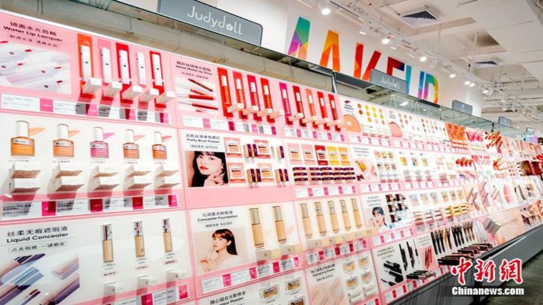 圖/翻攝自 中新網 中國大陸「電子第一街」轉型 大批美妝店進駐