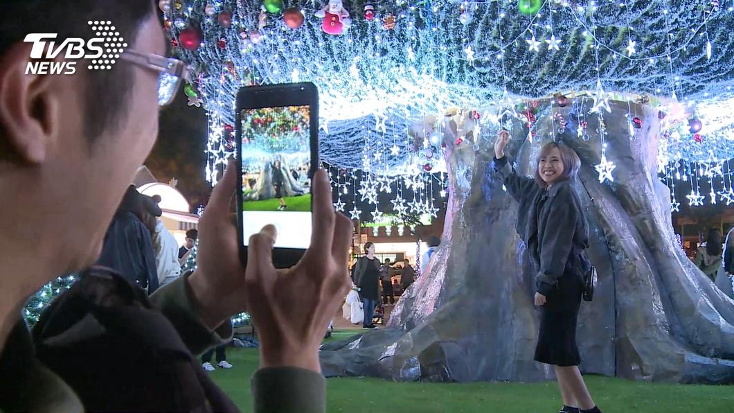圖/TVBS 新北歡樂耶誕開城一週 參觀人次逾60萬