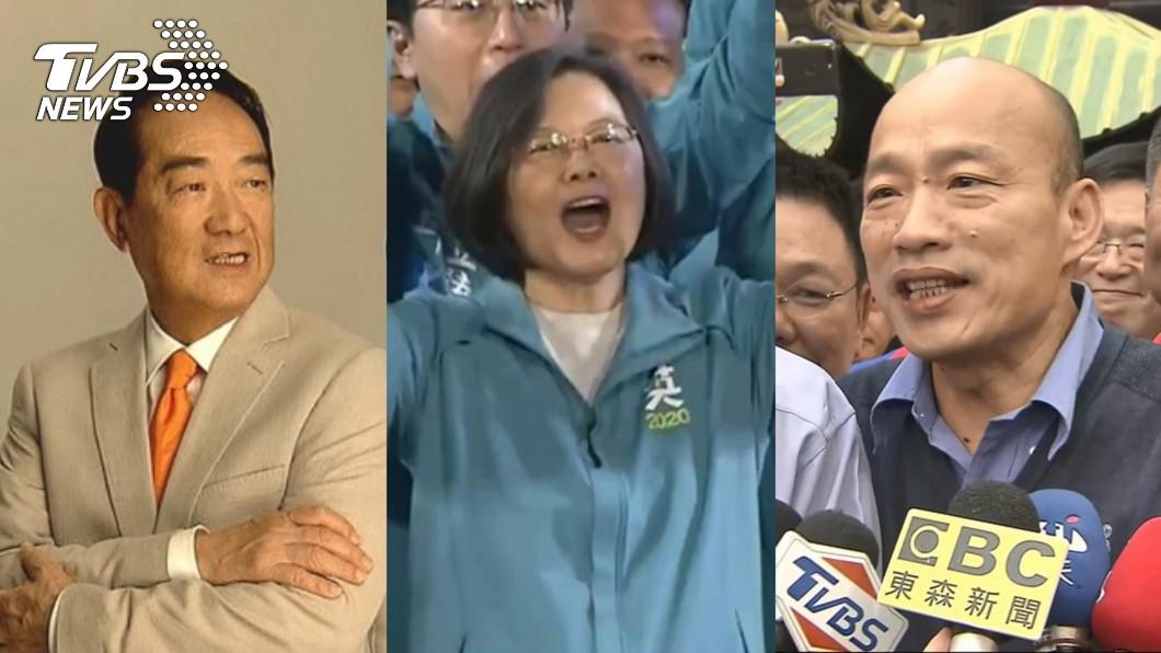 圖/TVBS資料畫面 2020總統選舉 首場電視政見會18日登場