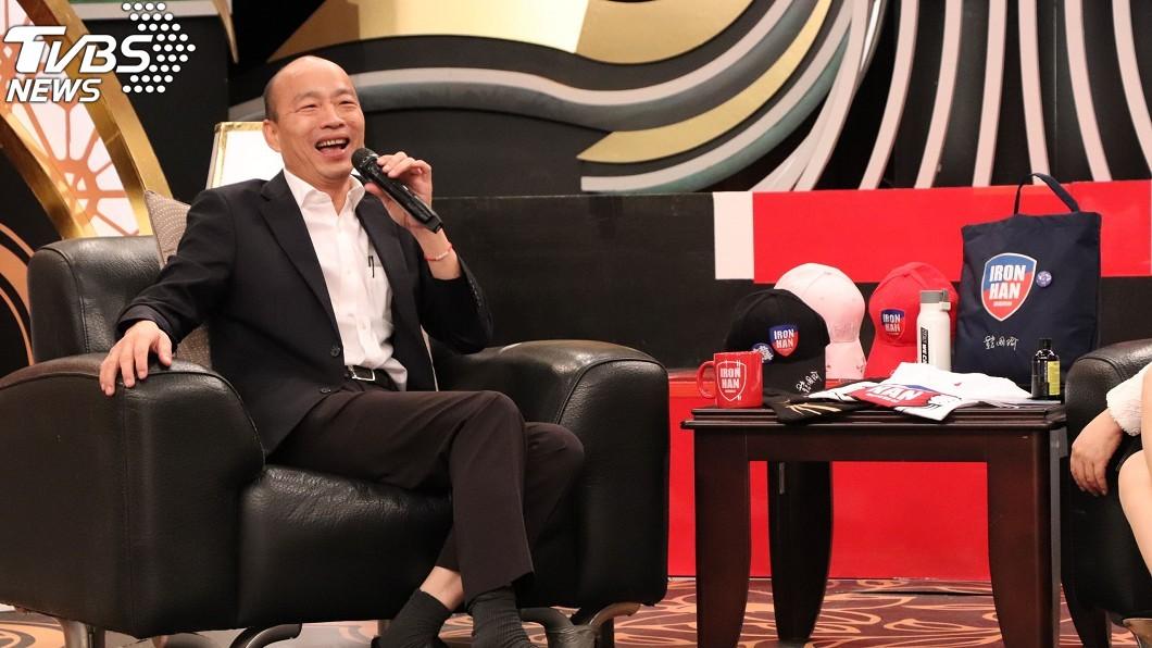 圖/中天提供 娶佳芬姐8年生不出!韓國瑜靠「吃X蛋」做人成功