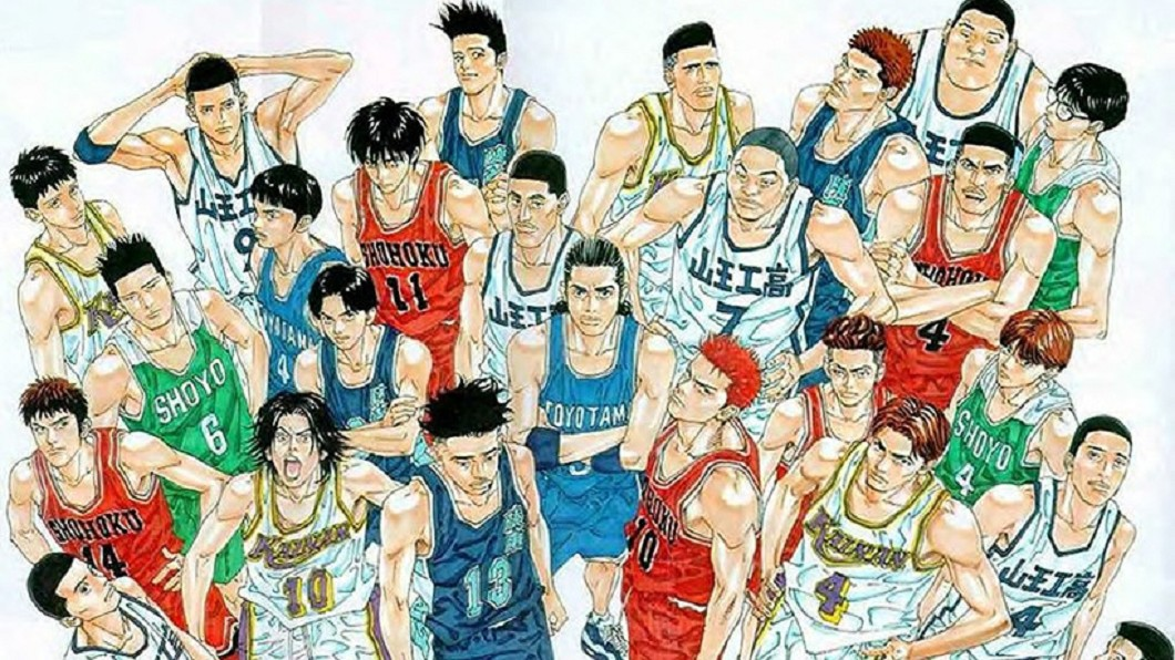 《灌籃高手》描述高中熱血籃球聯賽。圖/翻攝自HYPEBEAST 睽違23年!井上雄彥證實:《灌籃高手》2020年回歸