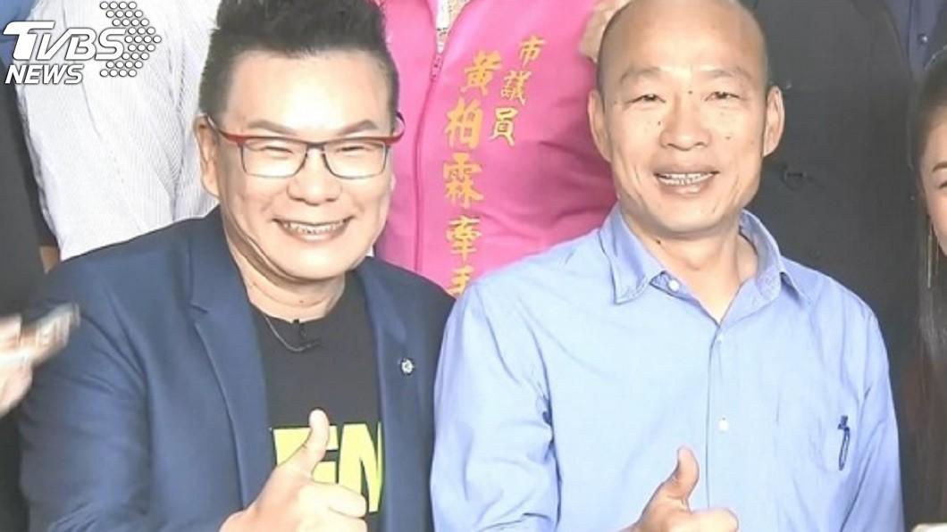 沈玉琳多次和韓國瑜直播或合體拍片。(圖/TVBS資料照) 親哥職位2級跳!沈玉琳遭疑「向韓引薦」回:算升很慢了