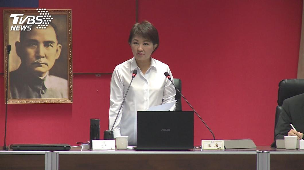 圖/TVBS 中火點怒火 林明溱:下架「鴨霸政府」王惠美:癌多五倍