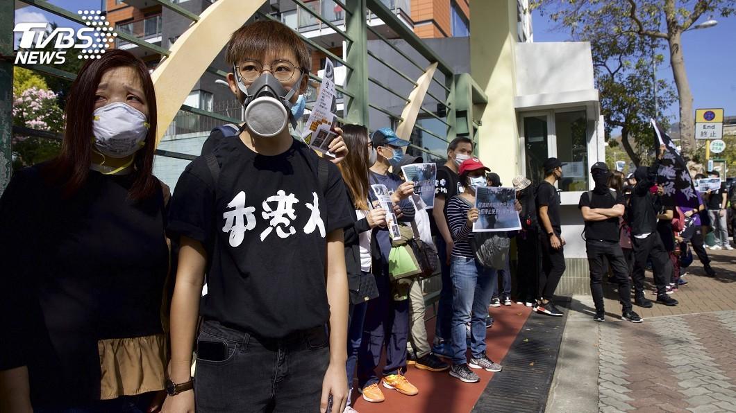 圖/達志影像美聯社 不顧大陸反對 川普簽下香港人權法案