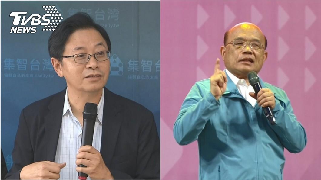 圖/TVBS資料畫面 酸蘇貞昌住院挨轟「犯大忌」 張善政道歉了:不好意思