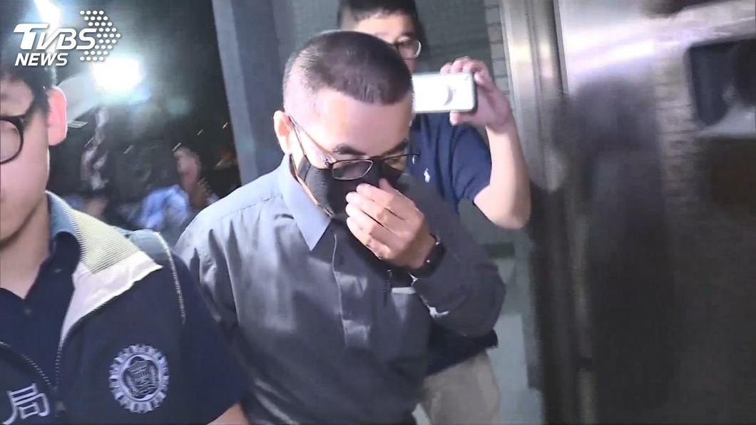 圖/TVBS 父子涉吸金3億! 龍巖前副總遭聲押禁見