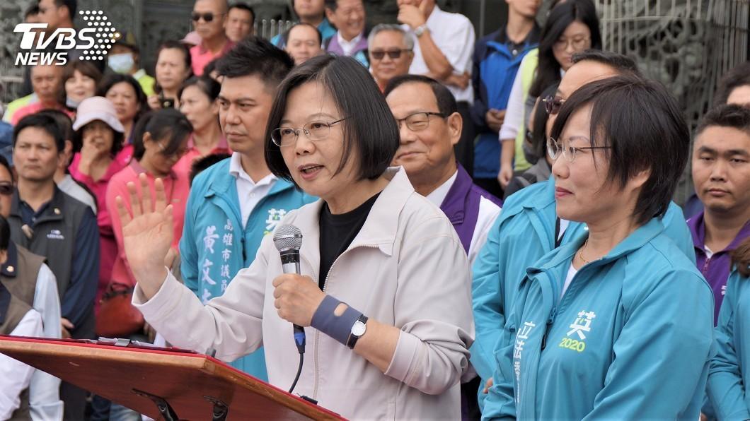 圖/中央社 蔡總統:打造南部科技廊道跟竹科一樣棒