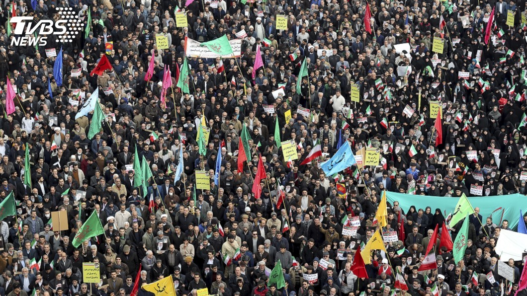 圖/達志影像美聯社 參與伊朗反政府示威 傳8名CIA相關人士被捕