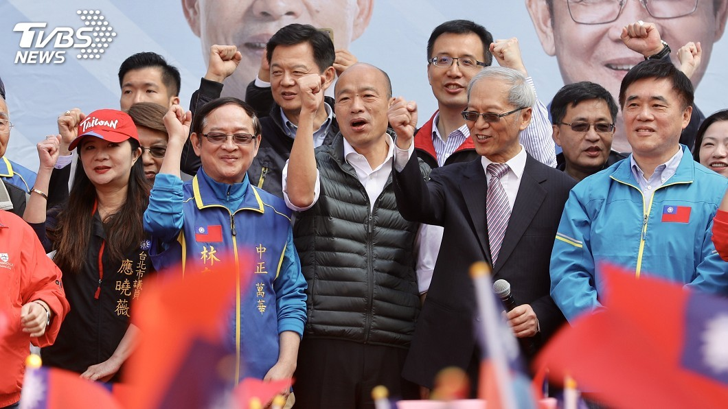 圖/中央社 韓國瑜主張軍公教警消出國進修 每人補助60萬元