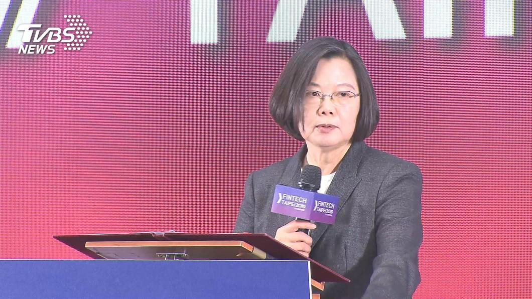 圖/TVBS資料畫面 蔡總統與青年對談提4大政策 減少第一哩路阻礙