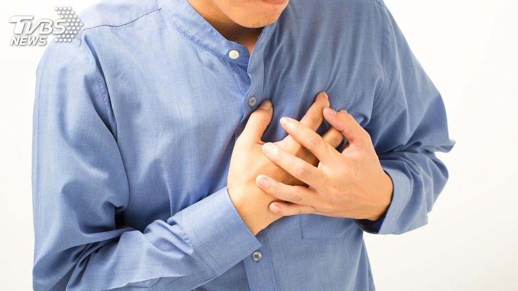 示意圖/TVBS 氣溫溜滑梯!天涼心肌梗塞風險增 男女症狀大不同