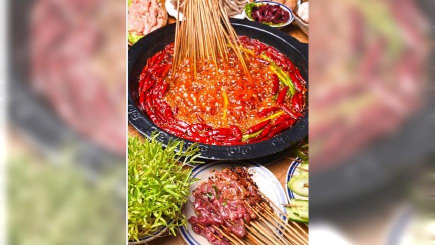圖/翻攝自中兴沈阳商业大厦微博 顛覆所有人的想像 東京餐廳推出肉串火鍋